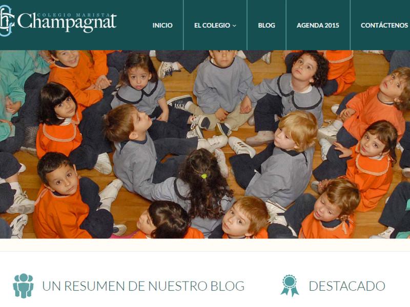 Web Colegio Marista Champagnat