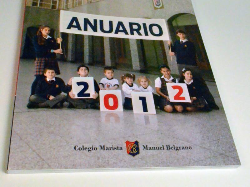 Anuario Colegio Manuel Belgrano 2012